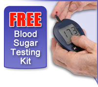 FREE Blood Sugar Test Kit